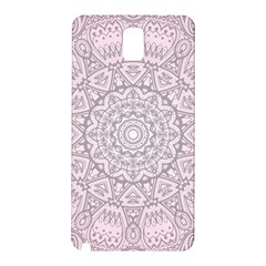 Pink Mandala art  Samsung Galaxy Note 3 N9005 Hardshell Back Case