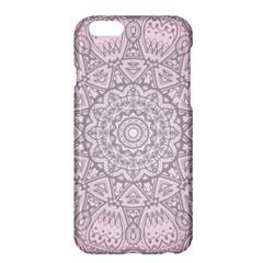 Pink Mandala Art  Apple Iphone 6 Plus/6s Plus Hardshell Case by paulaoliveiradesign