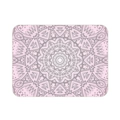 Pink Mandala art  Double Sided Flano Blanket (Mini)