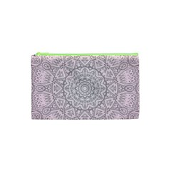 Pink Mandala art  Cosmetic Bag (XS)