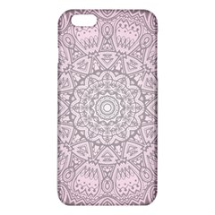 Pink Mandala Art  Iphone 6 Plus/6s Plus Tpu Case by paulaoliveiradesign