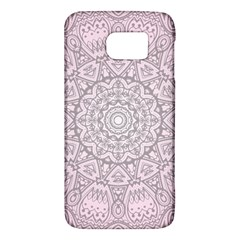 Pink Mandala Art  Galaxy S6 by paulaoliveiradesign