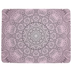 Pink Mandala art  Jigsaw Puzzle Photo Stand (Rectangular)