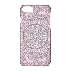 Pink Mandala art  Apple iPhone 7 Hardshell Case