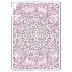 Pink Mandala art  Apple iPad Pro 9.7   White Seamless Case