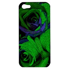 Roses Vi Apple Iphone 5 Hardshell Case by markiart