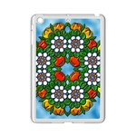 Cute Floral Mandala  iPad Mini 2 Enamel Coated Cases Front