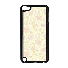 Floral Paper Pink Girly Pattern Apple Ipod Touch 5 Case (black) by paulaoliveiradesign