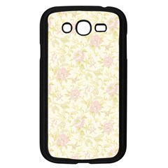 Floral Paper Pink Girly Pattern Samsung Galaxy Grand Duos I9082 Case (black) by paulaoliveiradesign