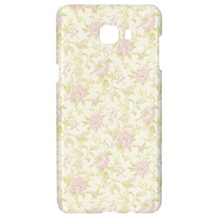 Floral Paper Pink Girly Pattern Samsung C9 Pro Hardshell Case  by paulaoliveiradesign