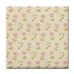 Floral Paper Illustration Girly Pink Pattern Face Towel by paulaoliveiradesign