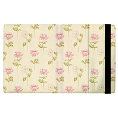 Floral Paper Illustration Girly Pink Pattern Apple Ipad Pro 9 7   Flip Case by paulaoliveiradesign