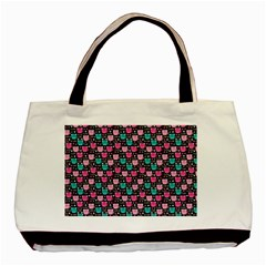 Cute Cats Iv Basic Tote Bag by tarastyle