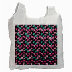Cute Cats Iv Recycle Bag (one Side) by tarastyle