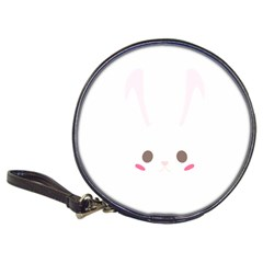 Rabbit Cute Animal White Classic 20 Cd Wallets