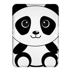 Bear Panda Bear Panda Animals Samsung Galaxy Tab 4 (10 1 ) Hardshell Case  by Nexatart