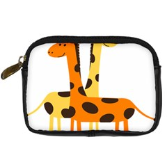 Giraffe Africa Safari Wildlife Digital Camera Cases by Nexatart