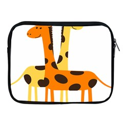 Giraffe Africa Safari Wildlife Apple Ipad 2/3/4 Zipper Cases