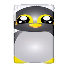 Cute Penguin Animal Apple Ipad Mini Hardshell Case (compatible With Smart Cover) by Nexatart