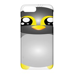 Cute Penguin Animal Apple Iphone 7 Plus Hardshell Case by Nexatart
