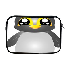Cute Penguin Animal Apple Macbook Pro 17  Zipper Case