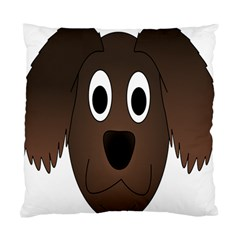 Dog Pup Animal Canine Brown Pet Standard Cushion Case (two Sides)