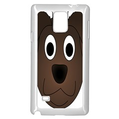 Dog Pup Animal Canine Brown Pet Samsung Galaxy Note 4 Case (white) by Nexatart