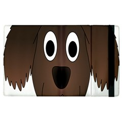Dog Pup Animal Canine Brown Pet Apple Ipad 2 Flip Case by Nexatart