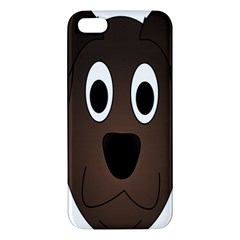 Dog Pup Animal Canine Brown Pet Iphone 5s/ Se Premium Hardshell Case