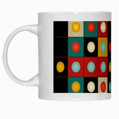 Colors On Black White Mugs by linceazul