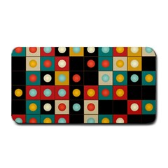 Colors On Black Medium Bar Mats by linceazul