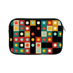 Colors On Black Apple Ipad Mini Zipper Cases by linceazul