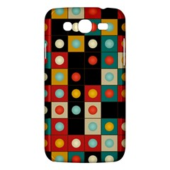 Colors On Black Samsung Galaxy Mega 5 8 I9152 Hardshell Case  by linceazul