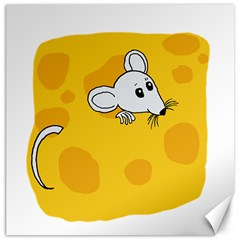 Rat Mouse Cheese Animal Mammal Canvas 12  X 12