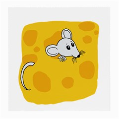 Rat Mouse Cheese Animal Mammal Medium Glasses Cloth (2 Side) by Nexatart
