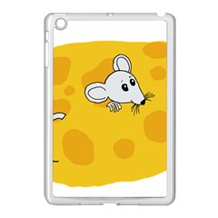 Rat Mouse Cheese Animal Mammal Apple Ipad Mini Case (white) by Nexatart