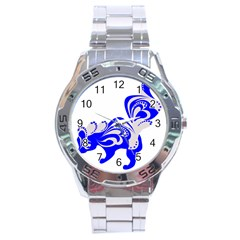 Skunk Animal Still From Stainless Steel Analogue Watch