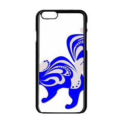 Skunk Animal Still From Apple Iphone 6/6s Black Enamel Case by Nexatart