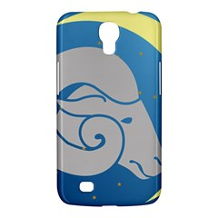 Ram Zodiac Sign Zodiac Moon Star Samsung Galaxy Mega 6 3  I9200 Hardshell Case by Nexatart