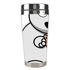Bear Polar Bear Arctic Fish Mammal Stainless Steel Travel Tumblers by Nexatart