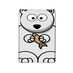Bear Polar Bear Arctic Fish Mammal Ipad Mini 2 Hardshell Cases by Nexatart