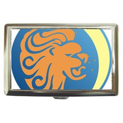 Lion Zodiac Sign Zodiac Moon Star Cigarette Money Cases by Nexatart