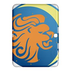 Lion Zodiac Sign Zodiac Moon Star Samsung Galaxy Tab 4 (10 1 ) Hardshell Case  by Nexatart