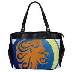 Lion Zodiac Sign Zodiac Moon Star Office Handbags by Nexatart