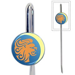 Lion Zodiac Sign Zodiac Moon Star Book Mark