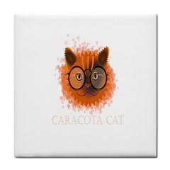 Cat Smart Design Pet Cute Animal Tile Coasters by Nexatart