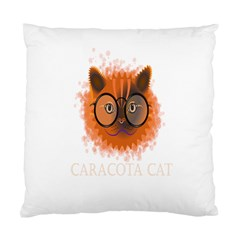 Cat Smart Design Pet Cute Animal Standard Cushion Case (two Sides) by Nexatart