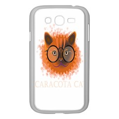 Cat Smart Design Pet Cute Animal Samsung Galaxy Grand Duos I9082 Case (white) by Nexatart