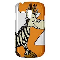 Zebra Animal Alphabet Z Wild Galaxy S3 Mini by Nexatart