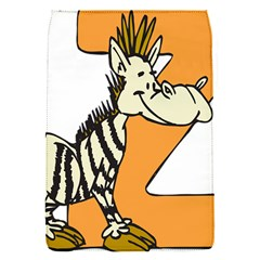 Zebra Animal Alphabet Z Wild Flap Covers (s)  by Nexatart